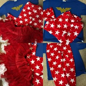 Other - Handmade Wonder Woman Outfit 4t